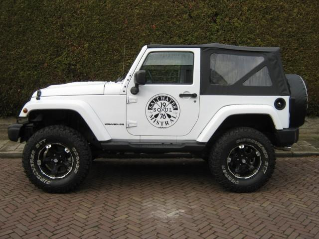 Jeep Wrangler 3.6 Polar Soft Top Sahara