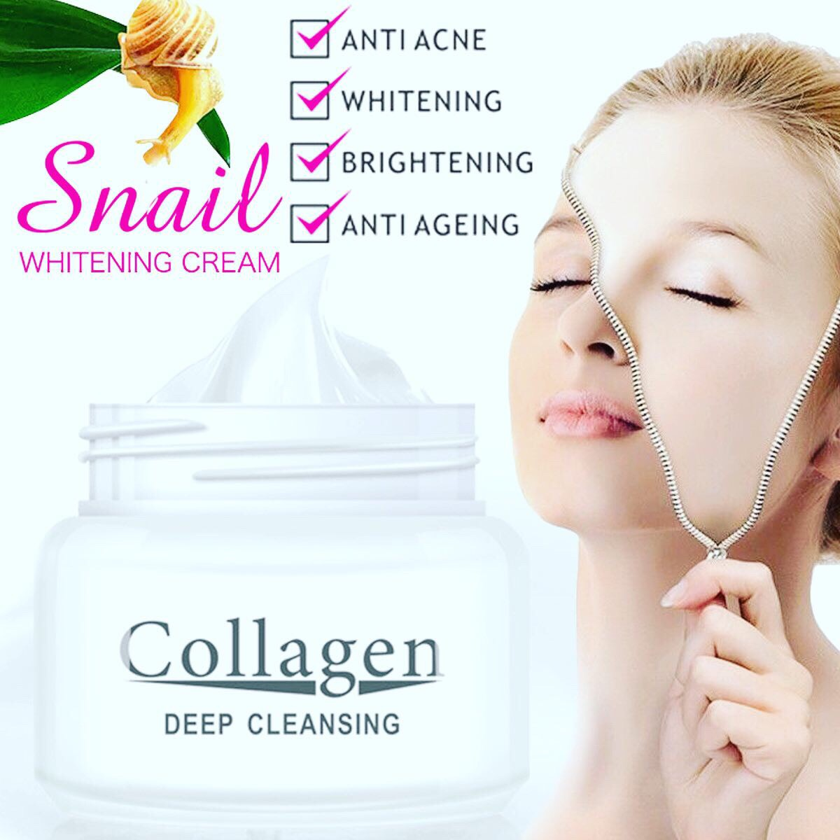 Huile Facial Collagene & Escargot